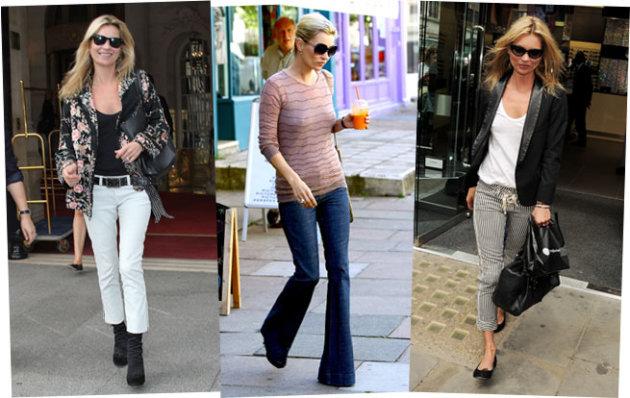 Kate Moss' Fashion Formula? Flares jeans blazer.jpg
