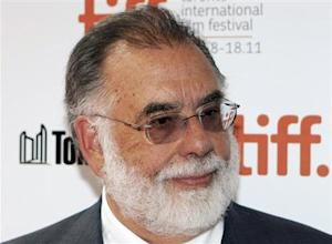"Coppola arrives on the red carpet for ""Twixt"" during Toronto International Film Festival in Toronto"