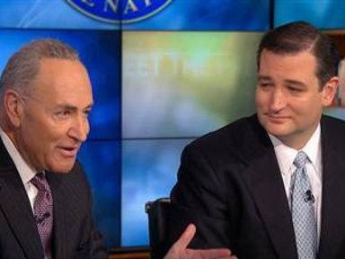 Sens. Cruz, Schumer Square Off On Guns, Debt
