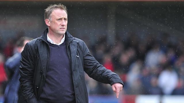 League Two - Yates named Manager of the Month