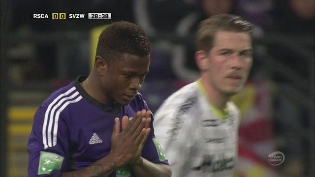 Anderlecht and Zulte-Waregem fire blanks in Pro League play-off