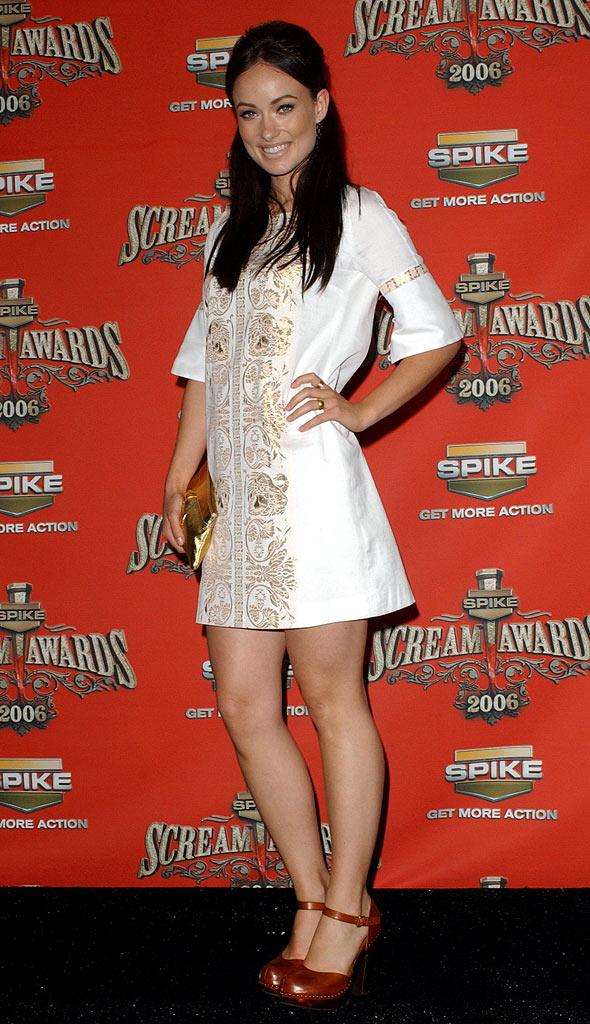 "Olivia Wilde at the Spike TV's ""Scream Awards 2006."""