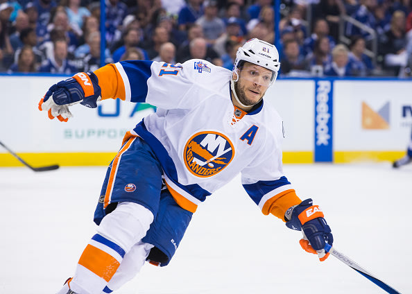 Okposo sees better Stanley Cup chance with Sabres than Islanders