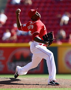 Aroldis Chapman is one of the few closers worth the premium price tag. (Getty)