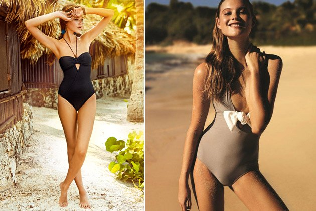 Kleiner Bauch? Swimsuits kaschieren! (Bilder: Watercult, Princesse tam tam)