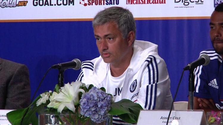 Chelsea meet press ahead of Indonesia friendly