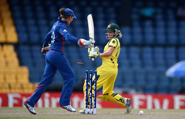 Australia v England - ICC Women's World Twenty20 2012 Final