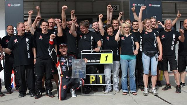 WTCC - Victory celebration for ALL-INKL.COM