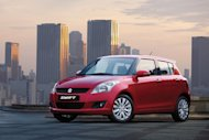 Stylish and yet still unmistakably a Suzuki Swift by nature at first glance.