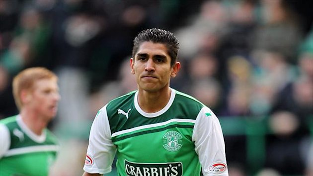 Jorge Claros is still wanted by Hibernian