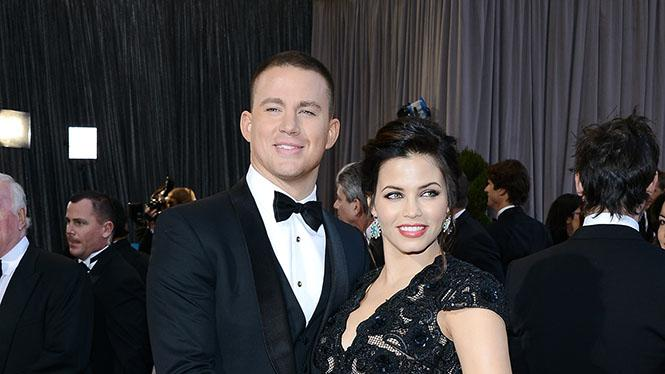 85th Annual Academy Awards - Arrivals: Channing Tatum and Jenna Dewan