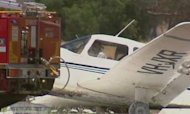 Student Pilot Crash-Lands After Losing Wheel