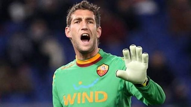 Maarten Stekelenburg at Roma