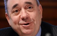 The Scottish first minister, Alex Salmond.  EFE / Archive