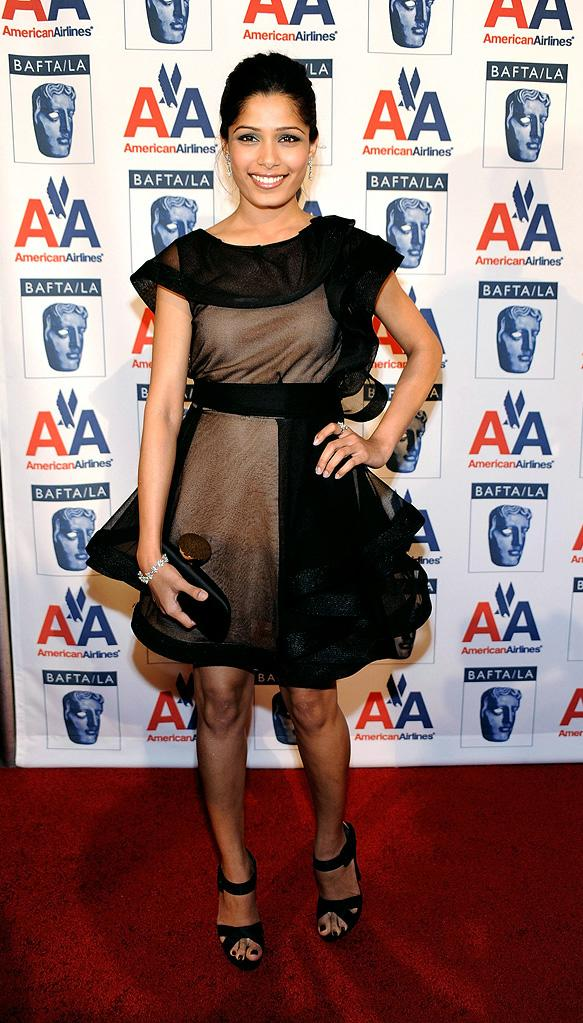 18th Annual BAFTA/LA Britannia Awards 2009 Freida Pinto