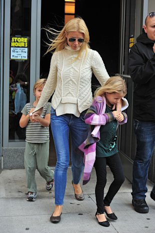 Paltrow, with daughter Apple, who she recently referred to as a