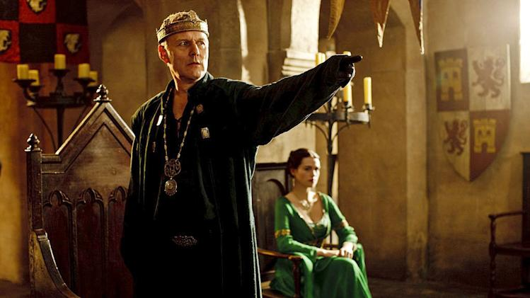 "Anthony Head as King Uther in ""Merlin."""