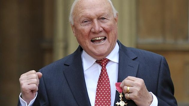 Stuart Hall received an OBE in the 2012 New Year Honours list