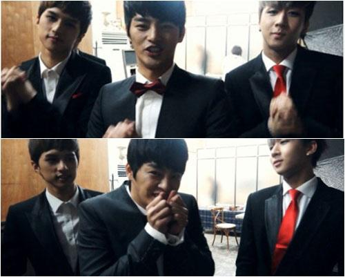 Seo In guk! Cute dance moves from the mv Because its Christmas