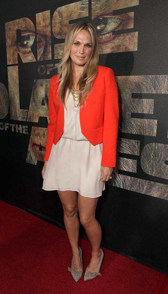 Rise of the Planet of the Apes 2011 LA Premiere Molly Sims
