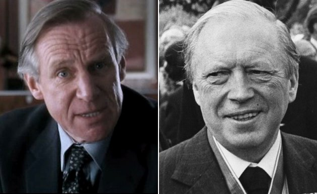 Actor Nicholas Farrell, left, portrayed Airey Neave in 'The Iron Lady'