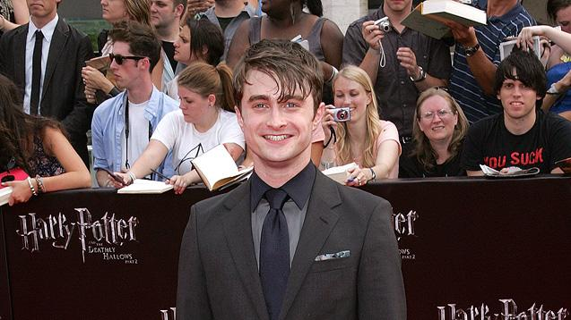 Harry Potter and the Deathly Hallows NY Premiere 2011 Daniel Radcliffe