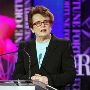 For Billie Jean King, 40 years after feats, women have 'so far to go'