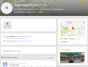 If You Don't Have Google+ Places for Business, You're Not on the Map image Google Places for business listing detail