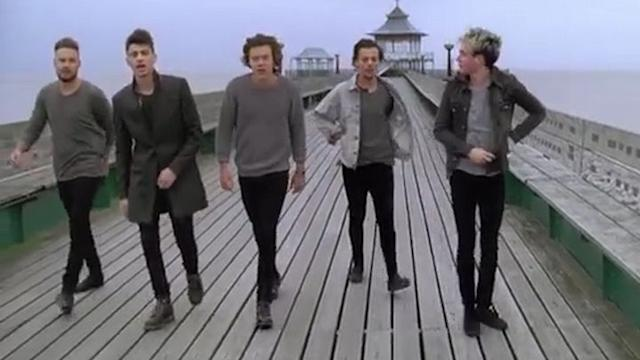 One Direction estrena vídeo de 'You and I'