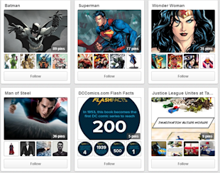 DC Versus Marvel – Who Is The Pinterest Superhero? image Man of Steel