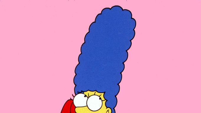 Marge Simpson (voiced by Julie Kavner) stars in The Simpsons on FOX.