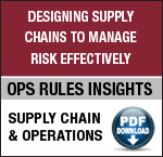 Ask the Chairman: Is It Possible to Create One Comprehensive Model of the Supply Chain? image new button10