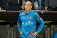 Robben blames 'big egos' for Netherlands' poor results at Euro 2012