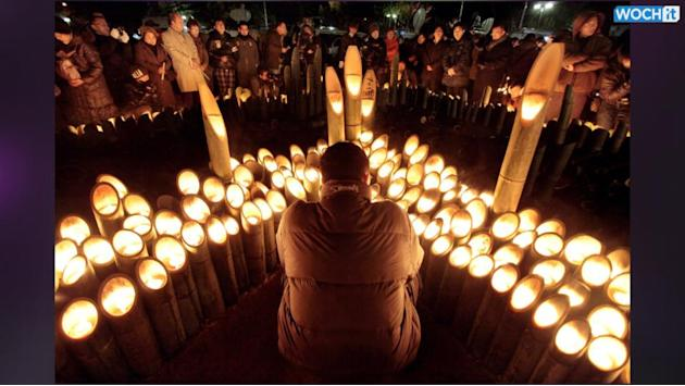 50,000 Candles Lit For World Record...and Peace