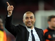 Former Chelsea manager Avram Grant has said interim boss Roberto di Matteo, seen here, should be given the job on a full-time basis after overseeing the team's run to the Champions League final