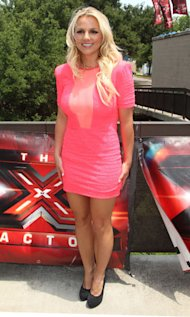 Britney Spears And Demi Lovato Dress To Impress At The X Factor USA Auditions