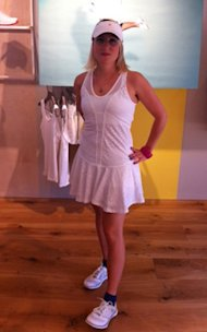 Adidas by Stella McCartney tennis outfit