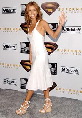 Eva Longoria at the Westwood premiere of Warner Bros. Pictures' Superman Returns