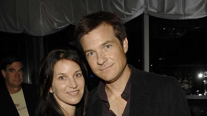"Jason Bateman and his wife attend the ""Coty Into the Wild"" After Party."