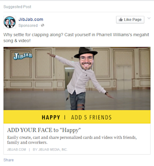 Why You NEED Social Media Landing Pages (Not Just a Homepage!) image fb landing page ad