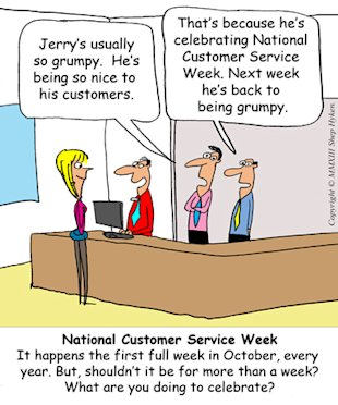 Its National Customer Service Week image National Customer Service Week Low Res