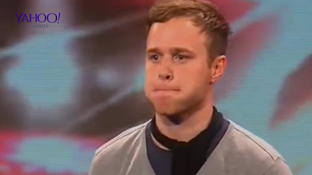 Olly knows The X Factor struggle all too well. Copyright: [ITV]