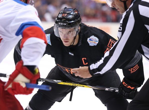 TORONTO, ON - SEPTEMBER 19: Connor McDavid #97 of Team North America prepares for a face-off against Team Russia during the World Cup of Hockey 2016 at Air Canada Centre on September 19, 2016 in Toronto, Ontario, Canada. (Photo by Andre Ringuette/World Cup of Hockey via Getty Images)