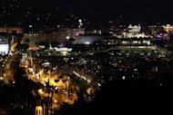 A general view shows the city and the port of Cannes by night during the 64th Cannes Film Festival in 2011. French feminists on Friday slammed the Cannes Film Festival for failing to include a single woman director in the line-up for the Palme d'Or top award that kicks off next week