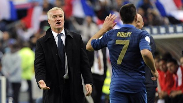 Deschamps Ribéry France 2013