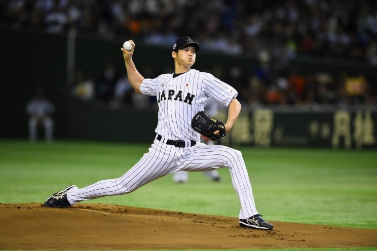 Shohei Otani would forfeit a significant amount of money by coming to MLB in 2018. (Getty Images/Masterpress)