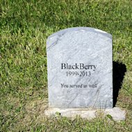 iOS 7 – Helping Business Quit CrackBerry image blackberry death small