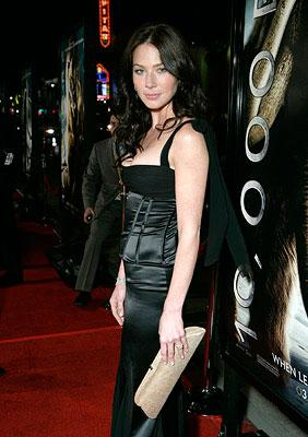 Lynn Collins at the Los Angeles premiere of Warner Bros. Pictures' 10,000 B.C.