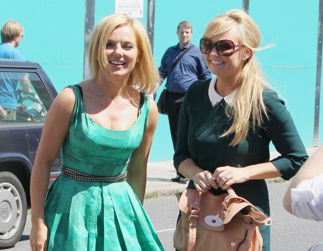 Emma Bunton and Geri Halliwell out together