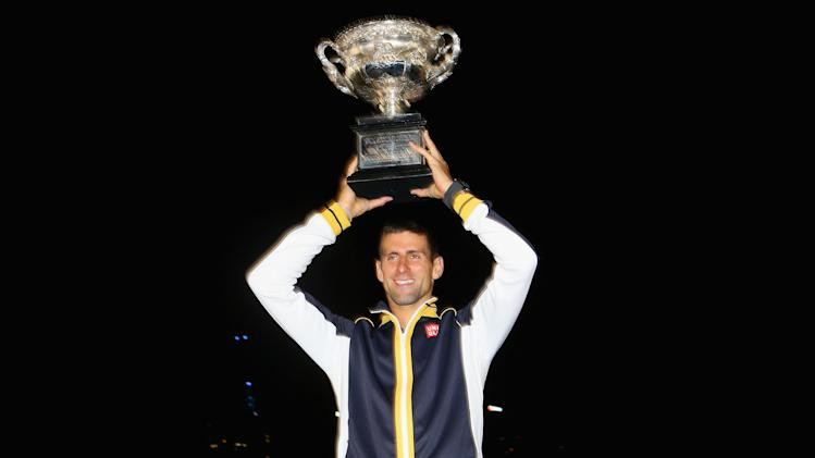 Australian Open 2013 - Men's Champion Photocall
